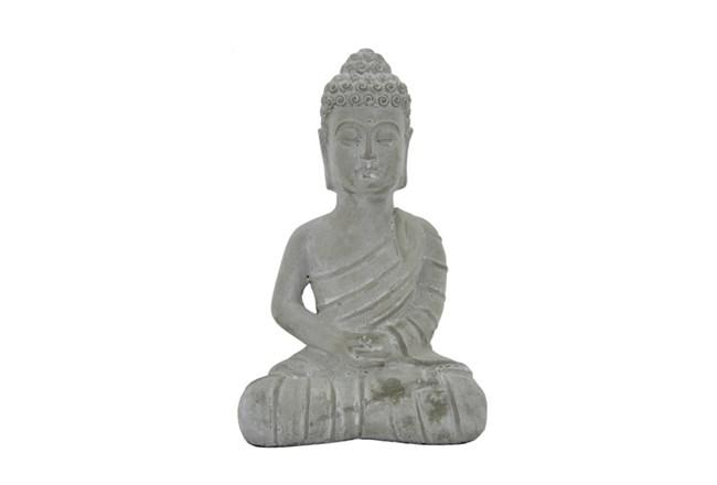 11 Inch Slate Sitting Buddha - 360