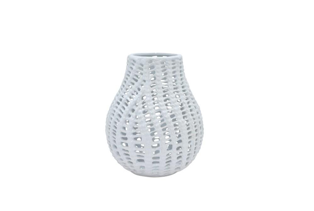 10 Inch Blanc Vase