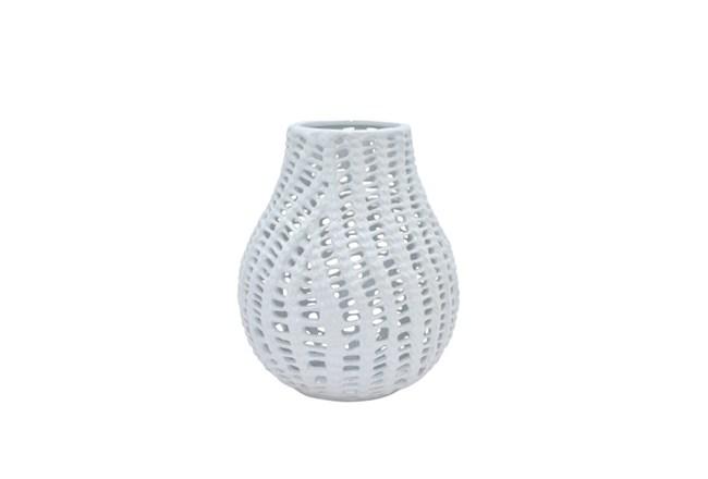 10 Inch Blanc Vase - 360