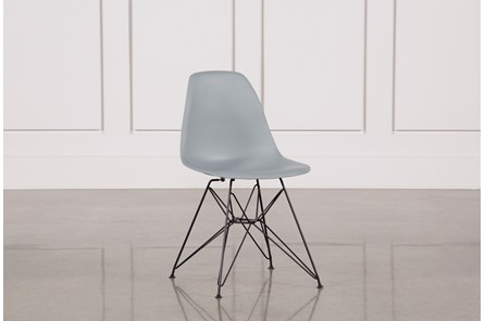 Alexa Grey Side Chair - Main