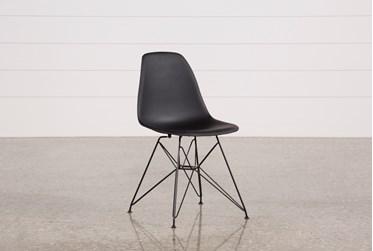 Alexa Black Dining Side Chair