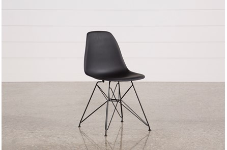 Alexa Black Side Chair - Main