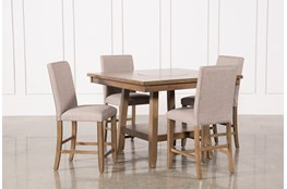 Hyland 5 Piece Counter Set With Stools
