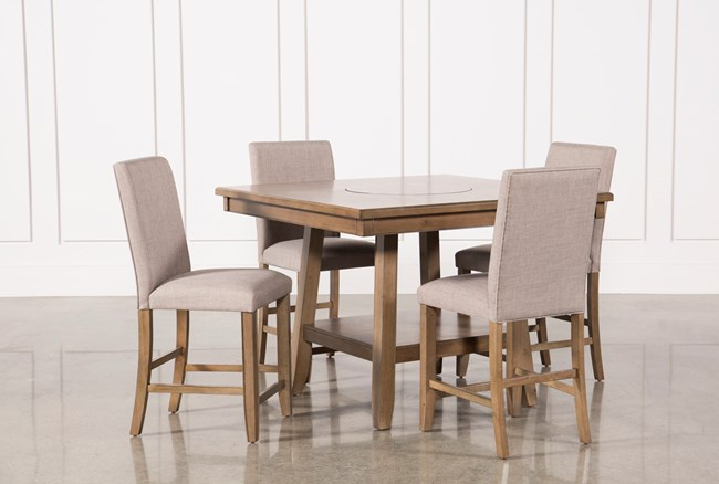 Hyland 5 Piece Counter Set With Stools - 360