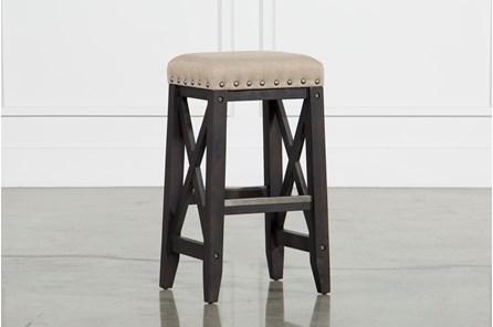 Jaxon Upholstered Barstool - Main