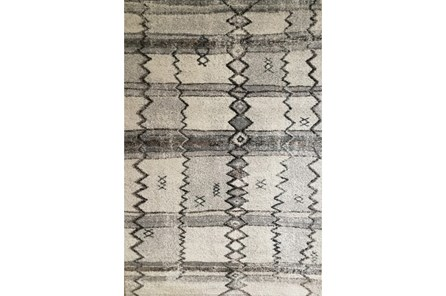 93X126 Rug-Mikuni Tribal Grey - Main