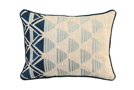 Accent Pillow-Aqua Sails 20X14