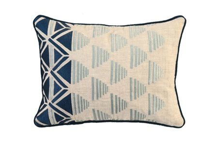Accent Pillow-Aqua Sails 20X14 - Main