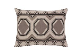 Accent Pillow-Taupe Tiles 12X16