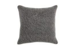 Accent Pillow-Chocolate Distressed Canvas 20X20