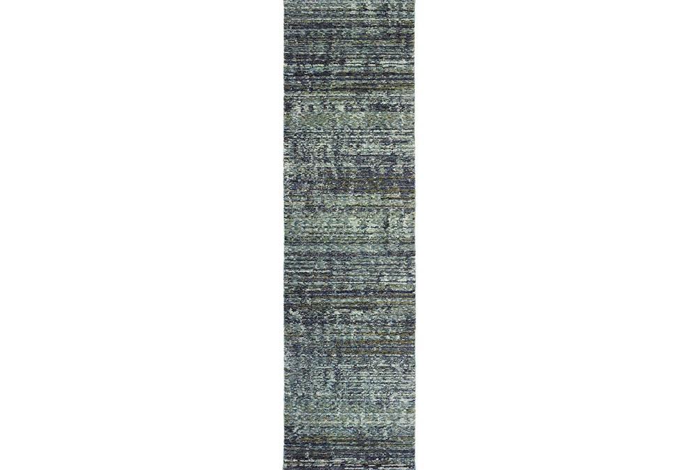 """2'3""""x8' Rug-Maralina Slate Blue"""