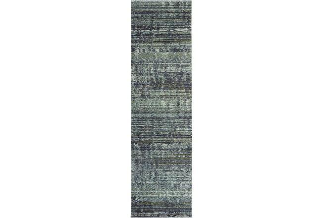 """2'3""""x8' Rug-Maralina Slate Blue - 360"""