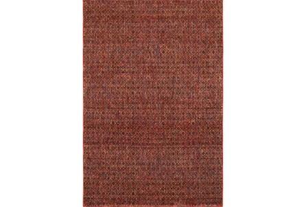 22X38 Rug-Maralina Pattern Persimmon