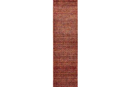 27X96 Rug-Maralina Pattern Persimmon