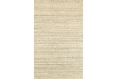 """3'5""""x5'5"""" Rug-Karina Natural Wool Stripe"""