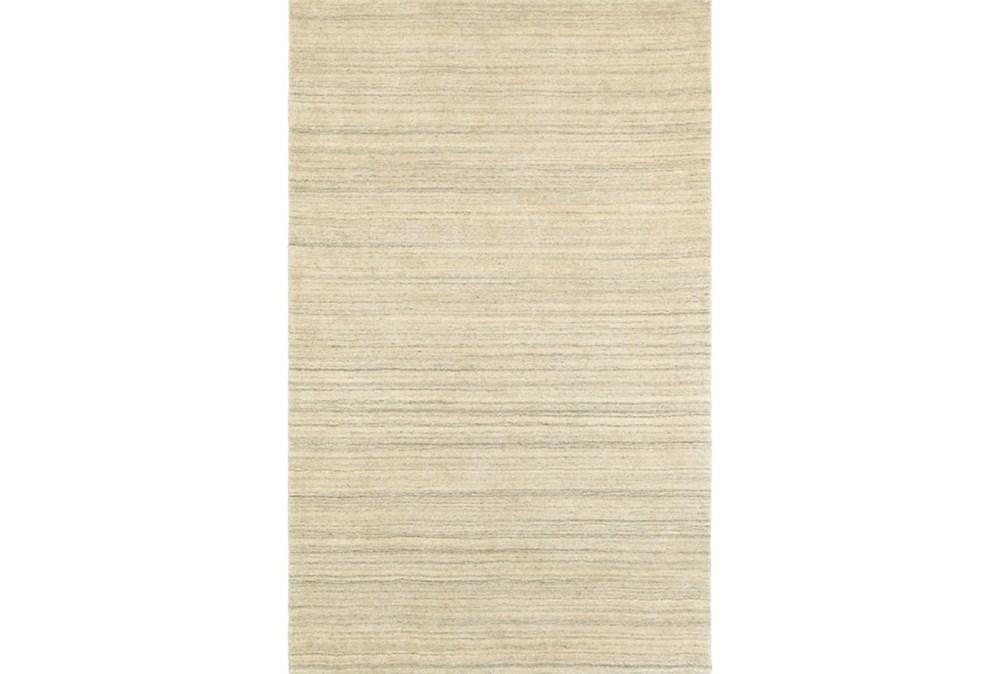 5'x8' Rug-Karina Natural Wool Stripe