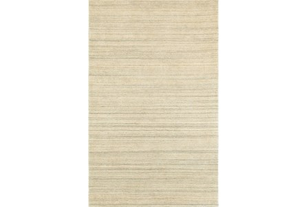 60X96 Rug-Karina Natural Wool Stripe