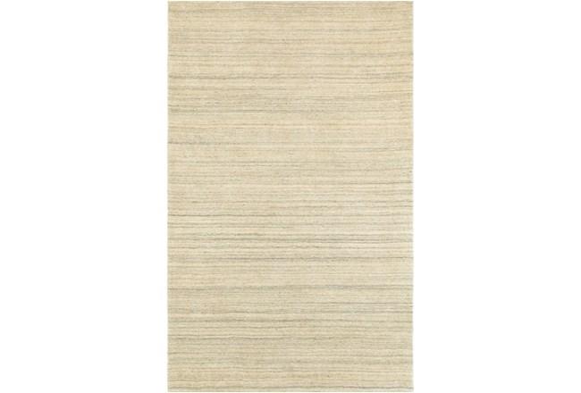 5'x8' Rug-Karina Natural Wool Stripe - 360