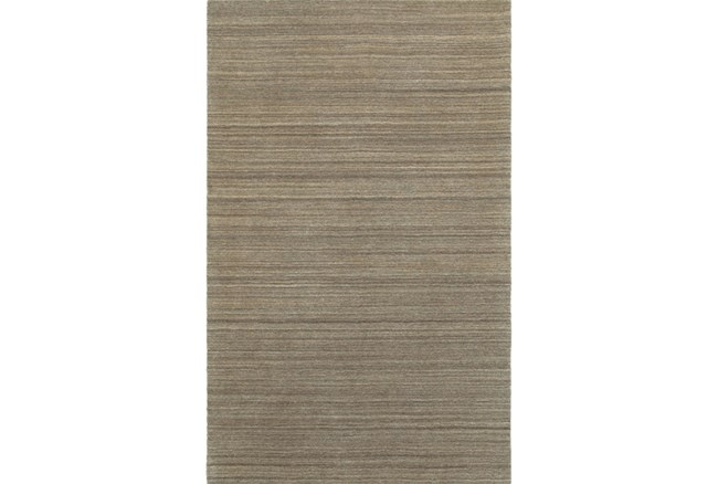 60X96-Karina Mocha Wool Stripe - 360