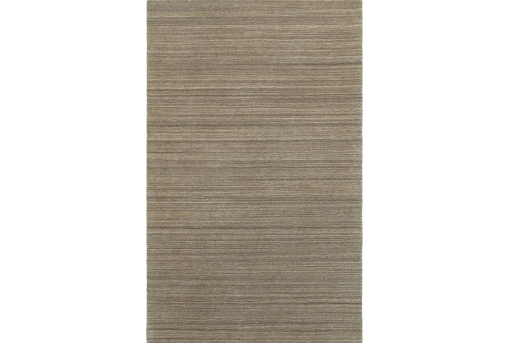 8'x10' Rug-Karina Mocha Wool Stripe