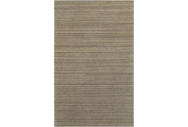 8'x10' Rug-Karina Mocha Wool Stripe - 360