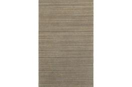10'x13' Rug-Karina Mocha Wool Stripe