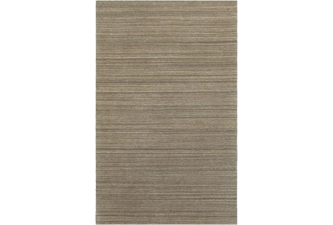 10'x13' Rug-Karina Mocha Wool Stripe - 360