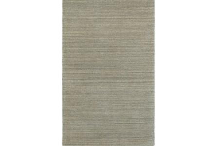 42X66 Rug-Karina Grey Wool Stripe