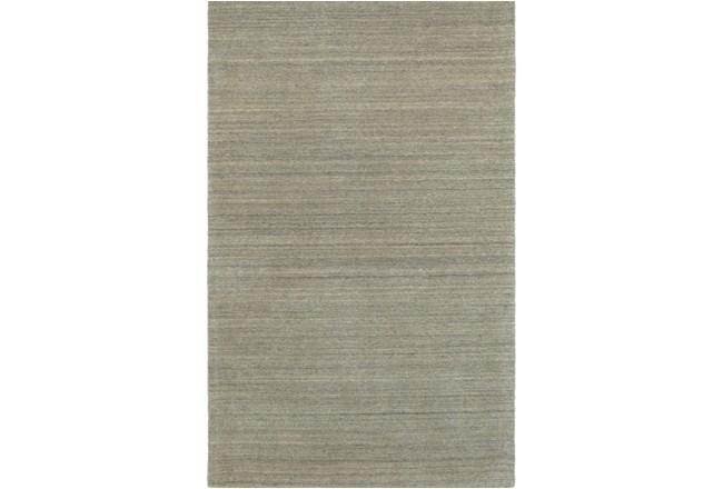 "3'5""x5'5"" Rug-Karina Grey Wool Stripe - 360"