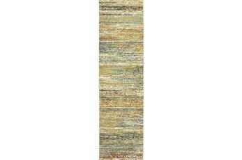27X96 Rug-Maralina Fern Multi