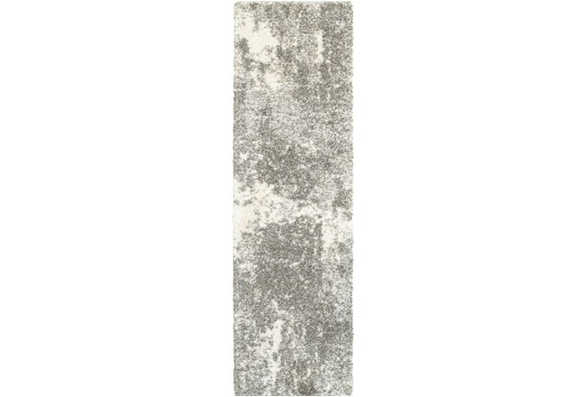 "2'3""x7'5"" Rug-Beverly Shag Lt Grey Faded - 360"