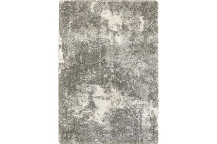 63X90 Rug-Beverly Shag Lt Grey Faded - Main