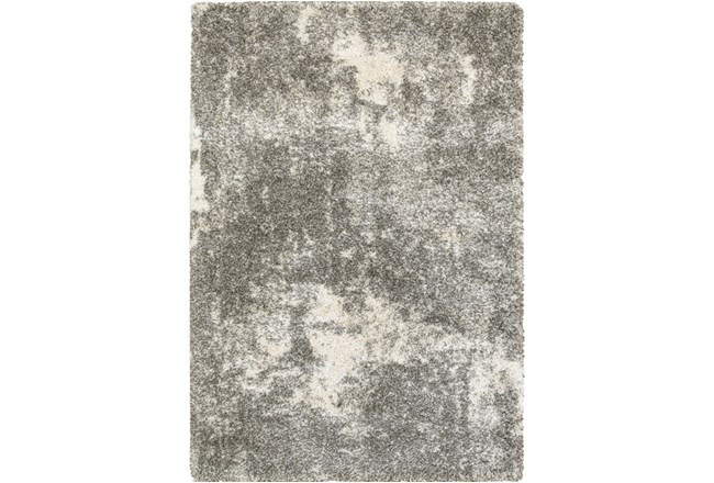 "7'8""x10'8"" Rug-Beverly Shag Lt Grey Faded - 360"