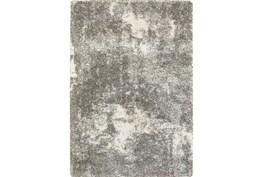 9'8x12'8 Rug-Beverly Shag Lt Grey Faded