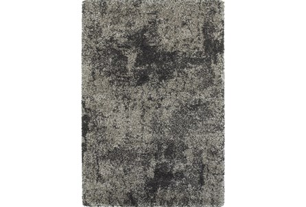 46X65 Rug-Beverly Shag Graphite Faded
