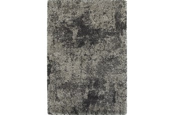 79X114 Rug-Beverly Shag Graphite Faded