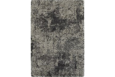 """6'6""""x9'5"""" Rug-Beverly Shag Graphite Faded"""