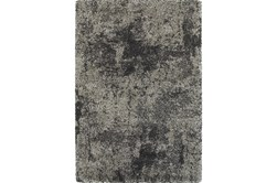 "7'8""x10'8"" Rug-Beverly Shag Graphite Faded"