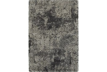 """7'8""""x10'8"""" Rug-Beverly Shag Graphite Faded"""