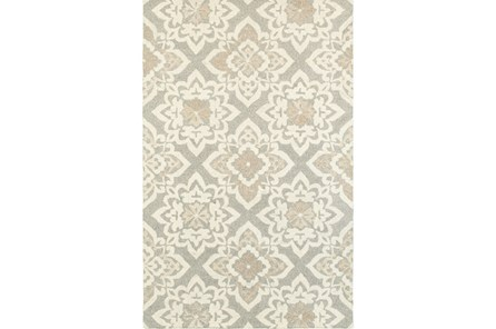 96X120 Rug-Tinley Grey Diamonds