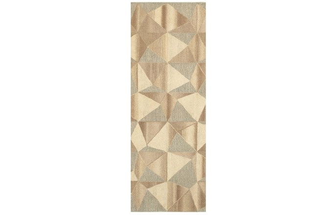 30X96 Rug-Weston Patchwork Facets - 360
