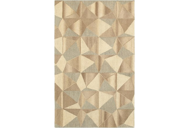 "3'5""x5'5"" Rug-Weston Patchwork Facets - 360"