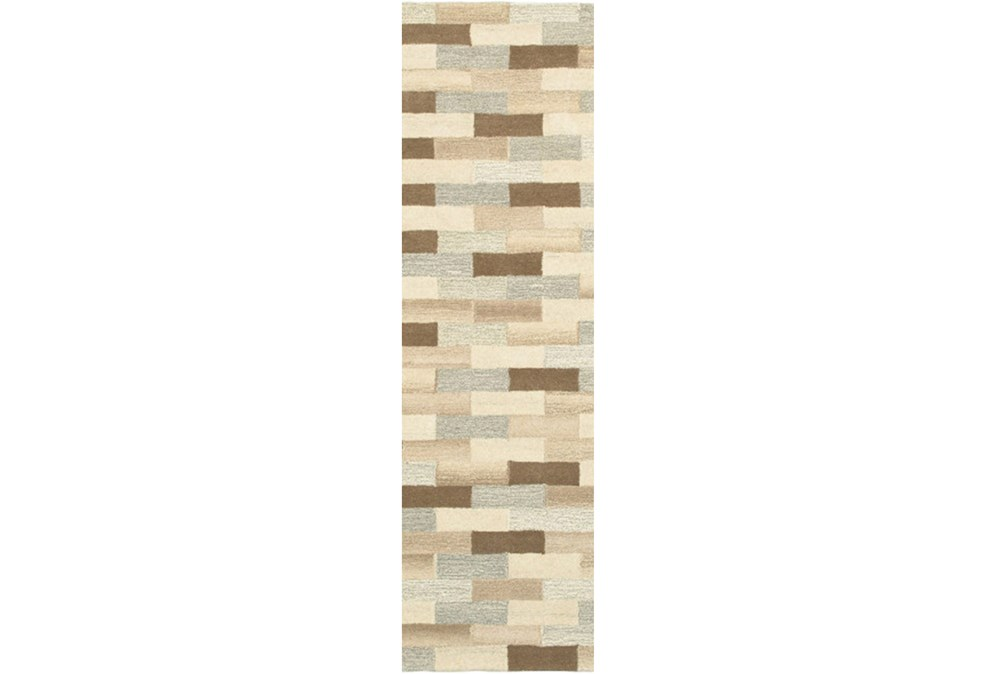 "2'5""x8' Rug-Weston Brick Pattern"