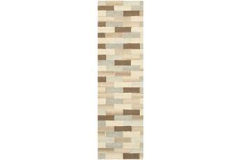 "2'5""x8' Rug-Weston Brick Pattern"