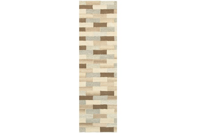 "2'5""x8' Rug-Weston Brick Pattern - 360"