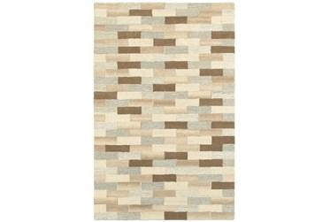 "3'5""x5'5"" Rug-Weston Brick Pattern"