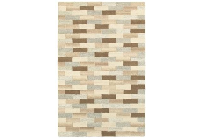 "3'5""x5'5"" Rug-Weston Brick Pattern - 360"