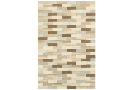 60X96 Rug-Weston Brick Pattern