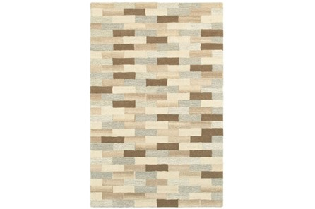60X96 Rug-Weston Brick Pattern