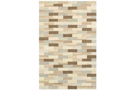 120X156 Rug-Weston Brick Pattern